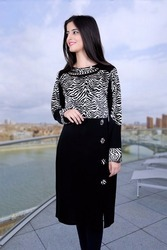 Black Fancy Kurtis