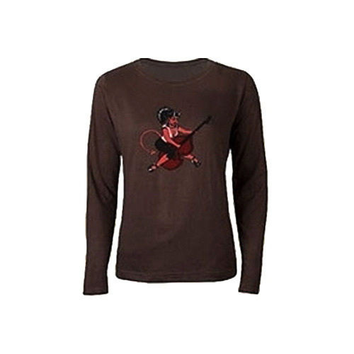 Chocolate Brown Full Sleeves T Shirt