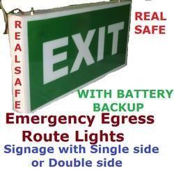 Emergency Egress Route Light