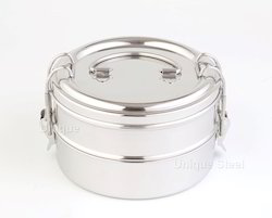 2 Tier Stainless Steel Food Carrier