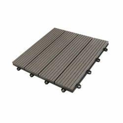 WPC Decking Dark Grey-Deck Tiles