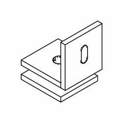 Glass to Wall Bracket 90 (Small)