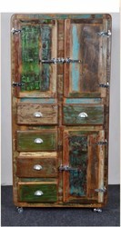 Recycled Wood Cabinet - Recycled Wood Furniture