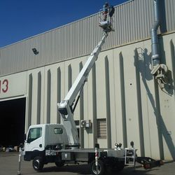 Truck Mounted Boom Lifts for Rental