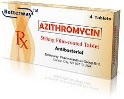 10 day course of azithromycin 500