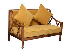 Hotel Furniture Wooden Sofa