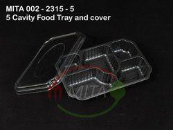 002-2315-5 Punnet Black Tray