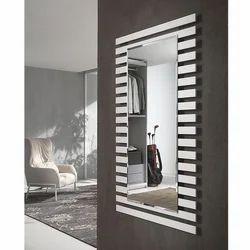 Venice Rettangolare Bianco Bathroom Mirror