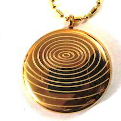 Am Gold Pendant