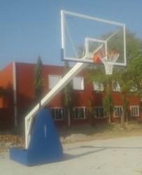 Moveable Basket Ball Pole