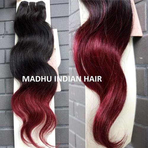 Red Ombre Wavy Hair