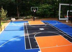 Basketball Synthetic Flooring