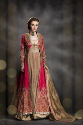 Indo Western Long Party Dress