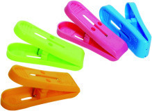 Plastic Cloth Clips