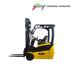 Godrej 1.6 Ton Three Wheel Electric Forklift