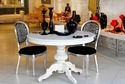 French Bistro Wooden Dining Table