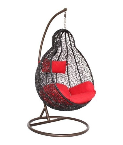 Swing Chair With Cushion And Pillow
