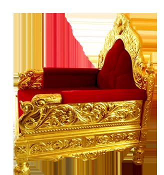 Royal Gold Chair