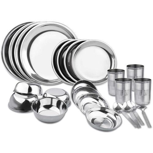 Stainless Steel Dinner Set
