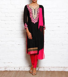 Designer Beautiful Party Wear Embroidery Ladies Suit