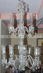Clear Big Chandelier