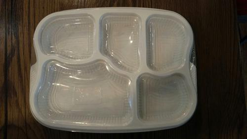 Disposable Plastic Meal Tray - 3 Compartments Disposable Plastic Tray Ecommerce Shop / Online Business from Mumbai & Disposable Plastic Meal Tray - 3 Compartments Disposable Plastic ...