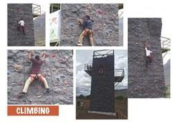 Climbing Wall for Corporate Training