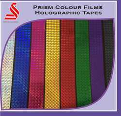 Prism Mix Colours Holographic Film Tapes