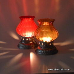 Glass Candle Votive Holders