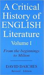 A Critical History of English Literature Volume I Book