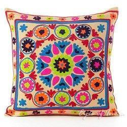 Suzani Indian Pillow Cover