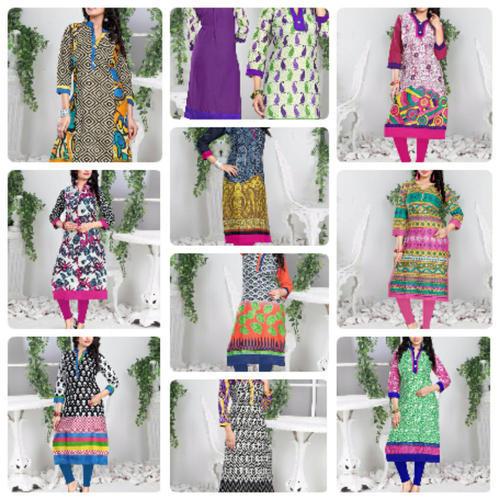 Kajal Style Cotton Kurtis