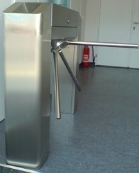 Automatic Waist High Turnstile