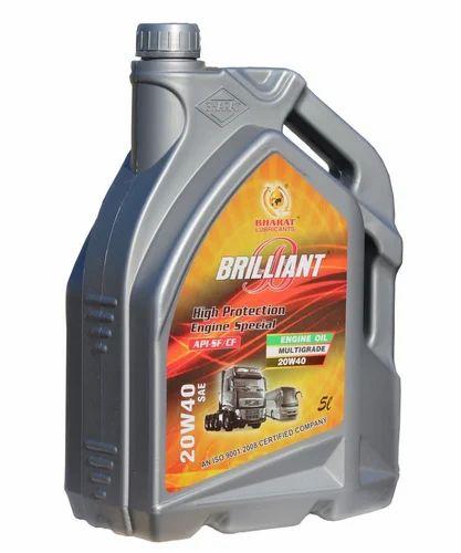 Commercial Vehicle Engine Oil Hd Brilliant Premium