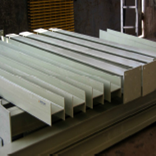 Fiberglass Structural Sections : Frp pultruded structural sections manufacturer from vadodara
