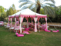 Indian Maharaja Wedding Tent