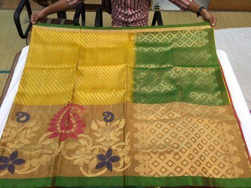 Hand Woven Silk Brocade Sarees