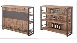 Industrial Bar Cabinet - Industrial Furniture