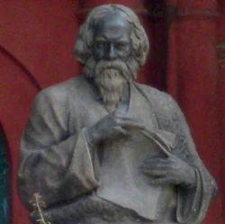 Rabindranath Tagore Bronze Half Statue
