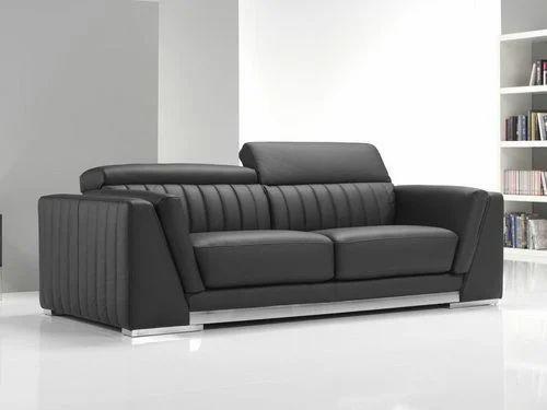 Leather Sofa - Contemporary Leather Sofa Manufacturer From Navi Mumbai