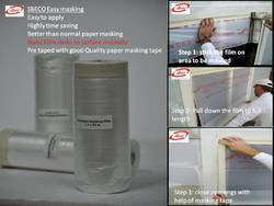 Masking Film For Furniture And Large Area/ Booth Masking.