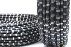 Rubber Coated Granite Wire Saw