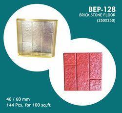 Brick Stone Floor PVC Moulds