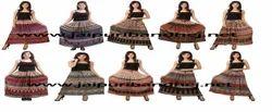 Designer Rayon Bagru Skirt