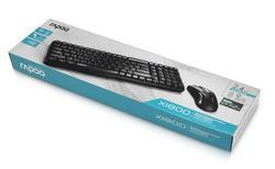 Rapoo Wireless Optical Combo KBD Mouse