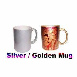 Silver Golden Mug
