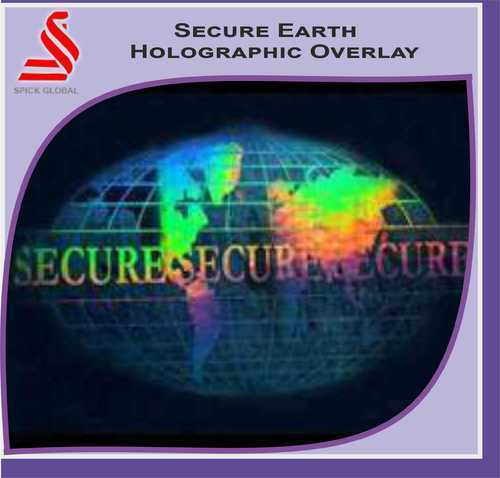 Secure Earth Holographic Overlays