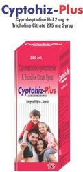 Cyproheptadine & Tricholine Syrup