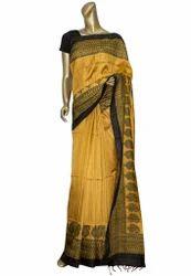 Latest Handloom Tussar Silk Saree