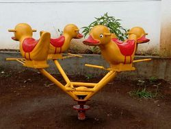 Animal Merry Go Round Playground Equipment